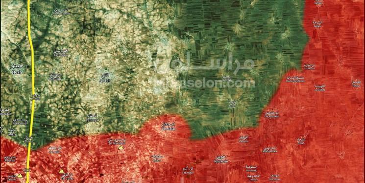 تروریست ها مانع باز شدن گذرگاه انسانی در جنوب ادلب می شوند