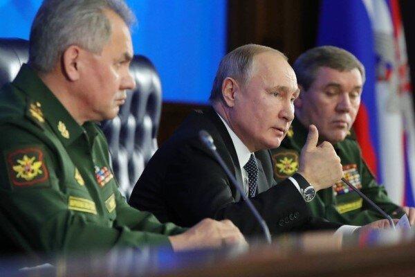 پوتین: روسیه در فراوری تسلیحات پیشرفته از رقبای جهانی پیشی می گیرد