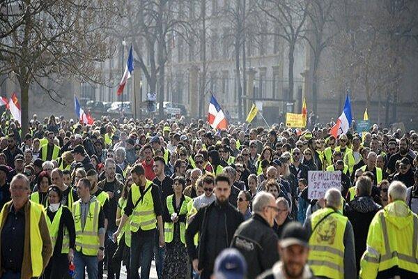 شروع تجمع جلیقه زردها برای برگزاری آخرین شنبه سیاه در سال 2019