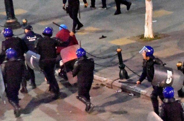 تظاهرات ضد دولتی مردم الجزایر در پایتخت این کشور