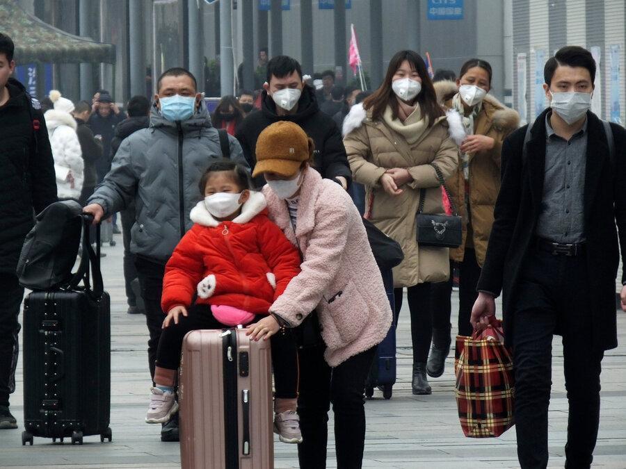ابتلای بیش از 1300 نفر در دنیا به ویروس کرونا
