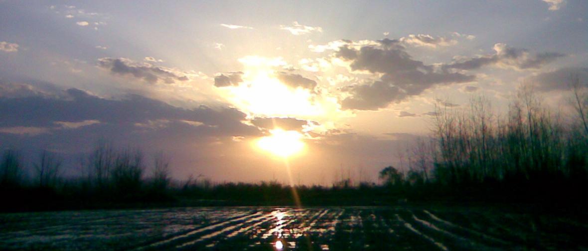 لحظاتی آرام در دو روستای آبکنار و اشپلا ، در جنوب تالاب انزلی