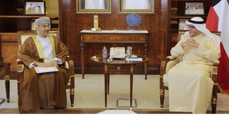 پیغام مکتوب سلطان عمان به امیر کویت