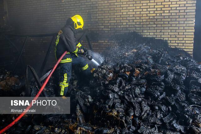 جزئیات آتش سوزی در نیروگاه تبریز