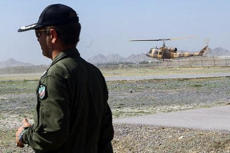 اعزام بالگردهای ارتش و سپاه برای اطفای حریق جنگل های بوشهر و خوزستان