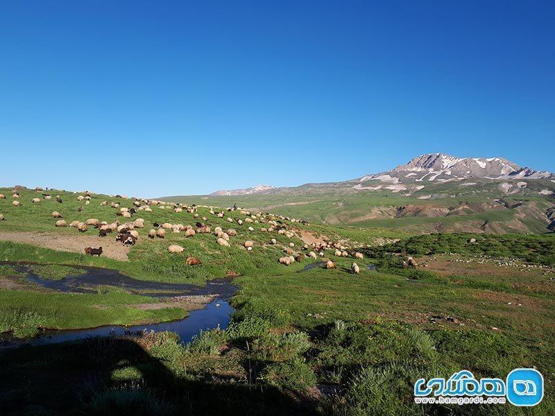 دریاچه دالامپر ارومیه؛ زیبایی بی بدیل و چشمگیر