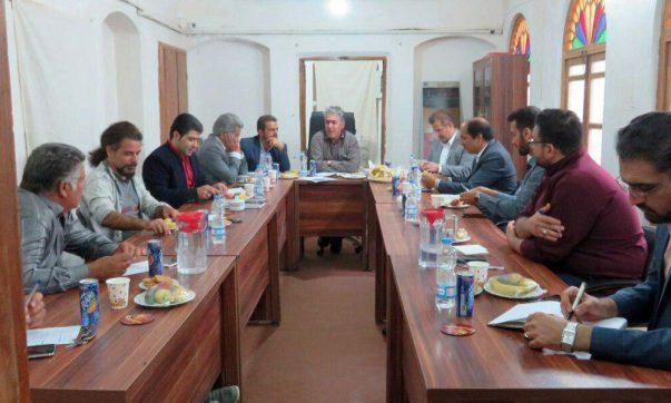 آنالیز مسائل بافت تاریخی نوش آباد با حضور مدیر امور پایگاه های میراث فرهنگی