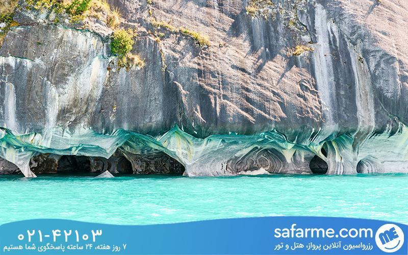 غار مرمر شیلی ، شگفت انگیزترین و عمیق ترین غار دنیا!