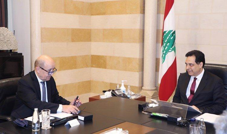 وزیر خارجه فرانسه: لبنان در لبه پرتگاه است