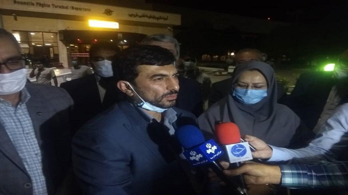 خبرنگاران پیغام همدردی سرپرست وزارت صمت با مردم لبنان