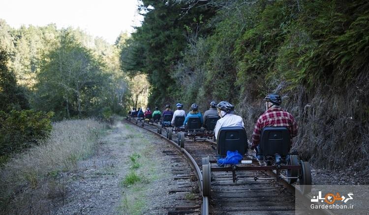 تور بازدید از جنگل با قطار پدالی، جهت قطارهای از کار افتاده جاذبه گردشگری می شوند