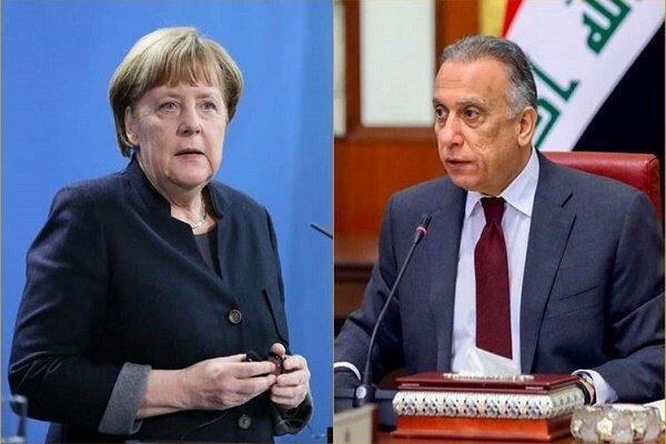 الکاظمی: عراق خواستار همکاری امنیتی، نظامی و اقتصادی با آلمان است