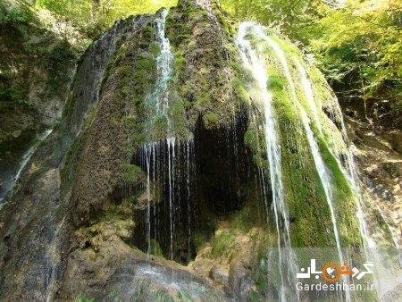 آبشار سمبی؛ جاذبه ای محبوب برای گردشگران در مازندران، عکس