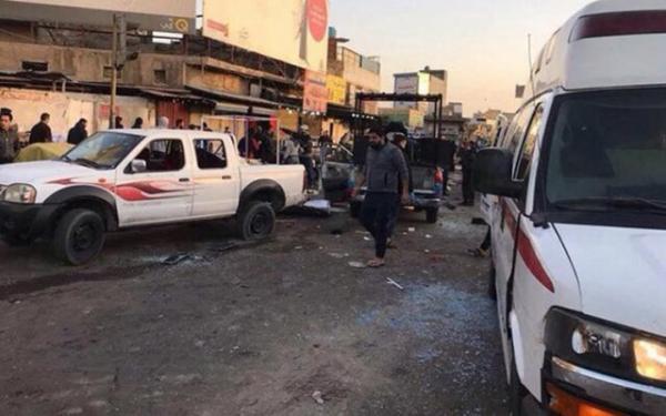 وقوع 2 انفجار مهیب در شرق بغداد