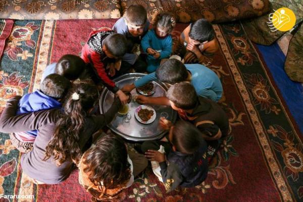 (تصاویر) پیرمردی که جنگ سوریه جان 13 فرزندش را گرفت