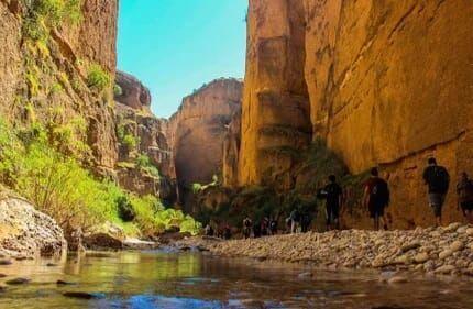 خبرنگاران ورود وسایل نقلیه به دره توبیرون دزفول ممنوع شد
