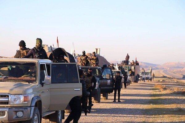 عملیات گسترده حشد شعبی عراق در محور جنوبی سامراء