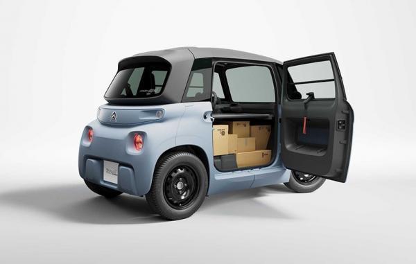 سیتروئن خودروی الکتریکی کوچک مای امی را برای حمل کالا رونمایی کرد