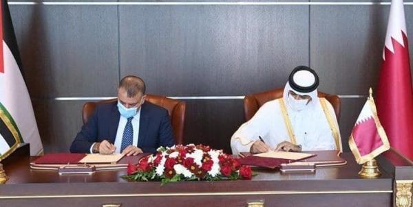 امضای توافق نامه امنیتی میان قطر و اردن