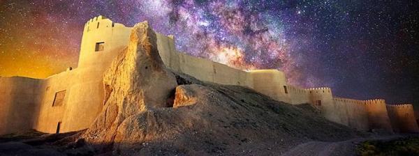 ارگ گلی و خشتی هم خسارت دید ، ورود جهانگرد به داخل ارگ بلقیس اسفراین ممنوع شد